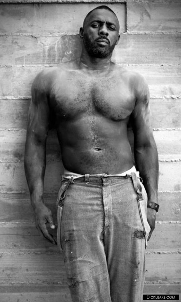 Idris Elba hot body